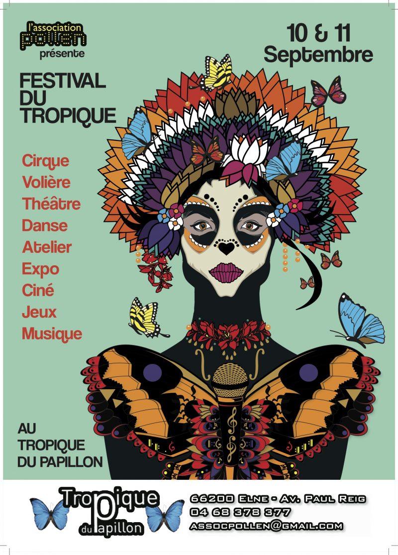 affiche festival du tropique